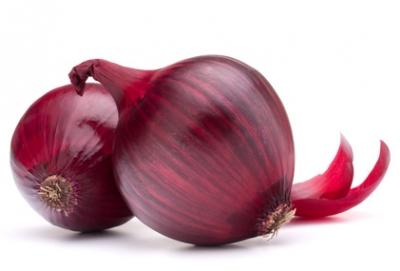 Frische Zwiebeln rot - 1 kg