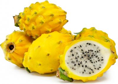 Pitahaya gelb oder Drachenfrucht 1 Stück