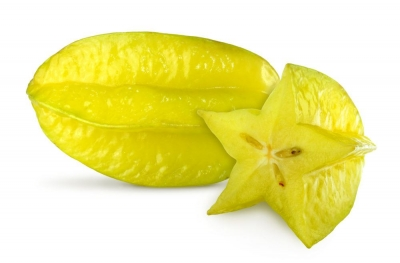 Sternfrucht oder Carambola 1 Stück