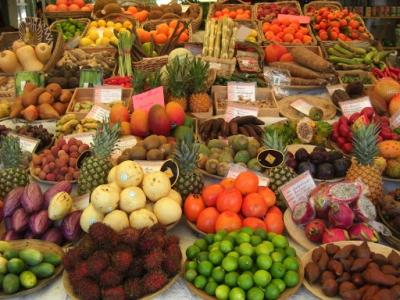Exotische Früchte und Gemüse Kiste - 5 kg